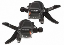 SHIMANO ACERA M3000 3 X 9 SPEED RAPIDFIRE GEAR LEVERS